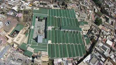 L'université Al Quaraouiyine et ses toits verts