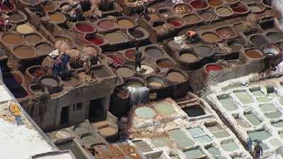 Les tanneurs de la ville