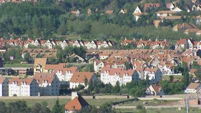 La ville d'Ifrane et ses alentours