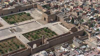 Palais El Badi, mosquée El Mansour et Koutoubia