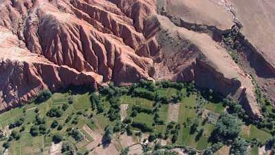 La haute vallée du Dadès