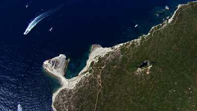 Les bouches et la ville de Bonifacio
