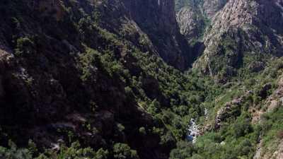 Evisa, rivière de Porto, Gorges de la Spelunca, Ota