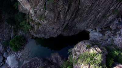 Rivière Solenzara vers Bavella, piscines naturelles