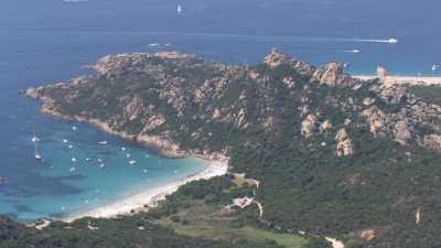 Golfe et Tour de Roccapina