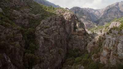 Rivière de Porto vers Gorges de Spelunca