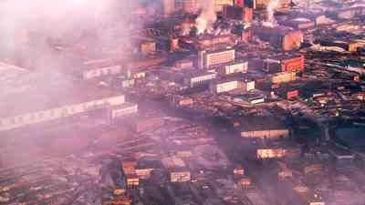 La ville industrielle la plus au nord est aussi l'une des plus polluées