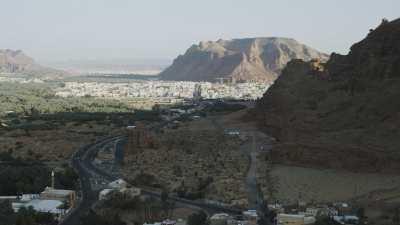 La région d'Al Ula