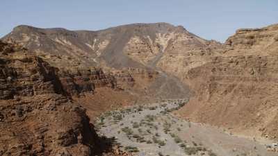 Canyon près de Al-Ula