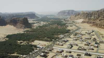 La vieille ville d'Al-Ula
