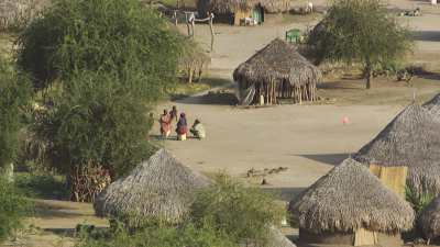 Village au bord du Nil, nord de Djouba
