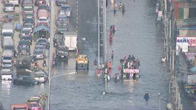 Inondations dans la capitale suite à la tempête