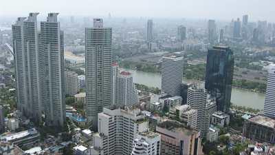 Centre ville de Bankok