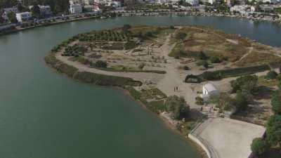 Cathédrale et port punique de Carthage