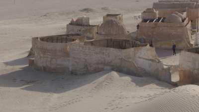 Les décors de la planète Tatooine, Star Wars