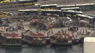 Gros plans sur la ville d'Istanbul