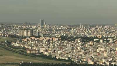 Vue d'ensemble de divers quartiers d'Istanbul