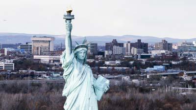 Autour de la Statue de la Liberté