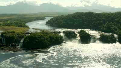 Chutes du Parc Canaima, rio Churun