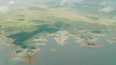 Rio Caroni, lac de Guri